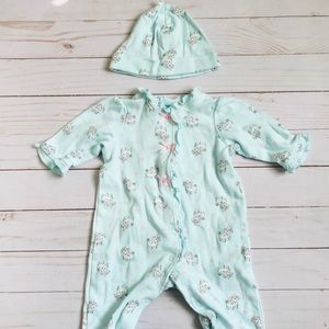 Little Me Matching Sets - 2/$10 Little Me Hat & One Piece Outfit
